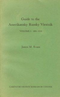 Amerikansky Russky Viestnik, vol. 1