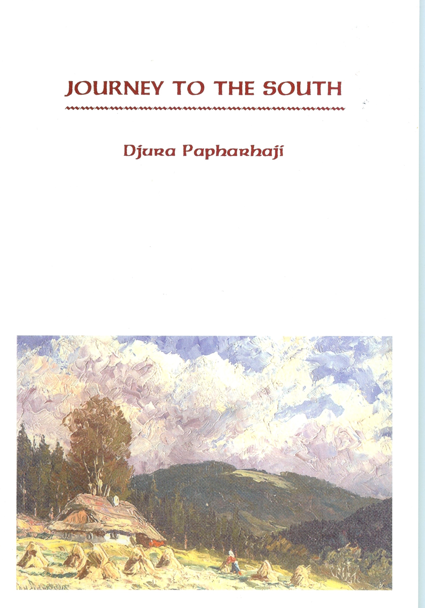 Djura Papharhaji - Journey to the South - Poetry